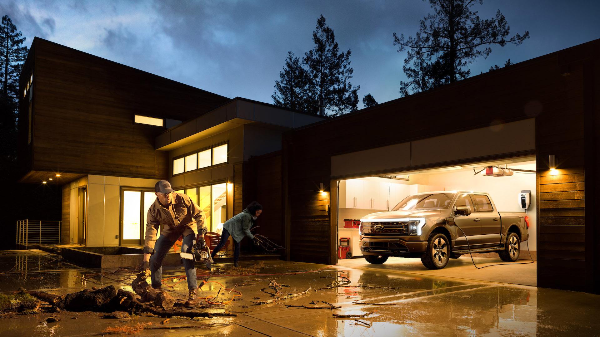 Esta es la nueva Ford F-150 Lightning: imágenes y video