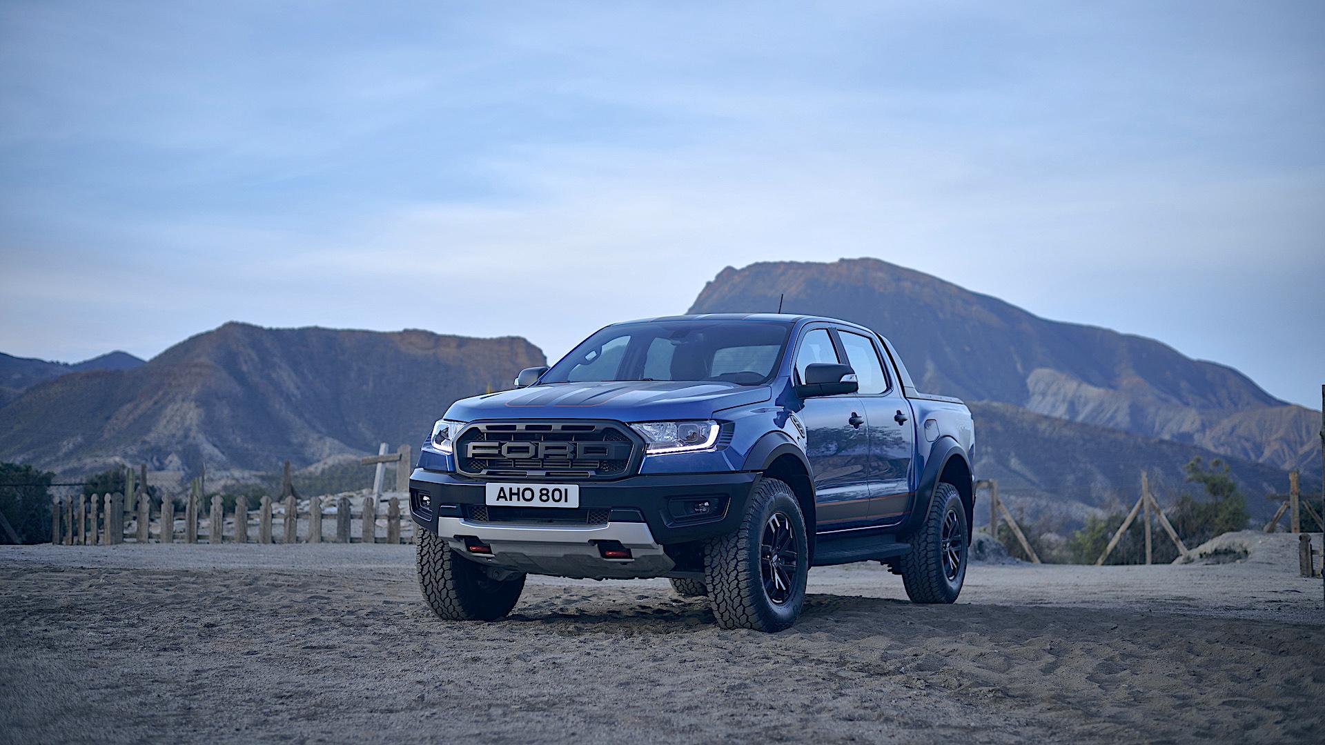Esta es la nueva pickup Ford Ranger Raptor Special Edition: imágenes
