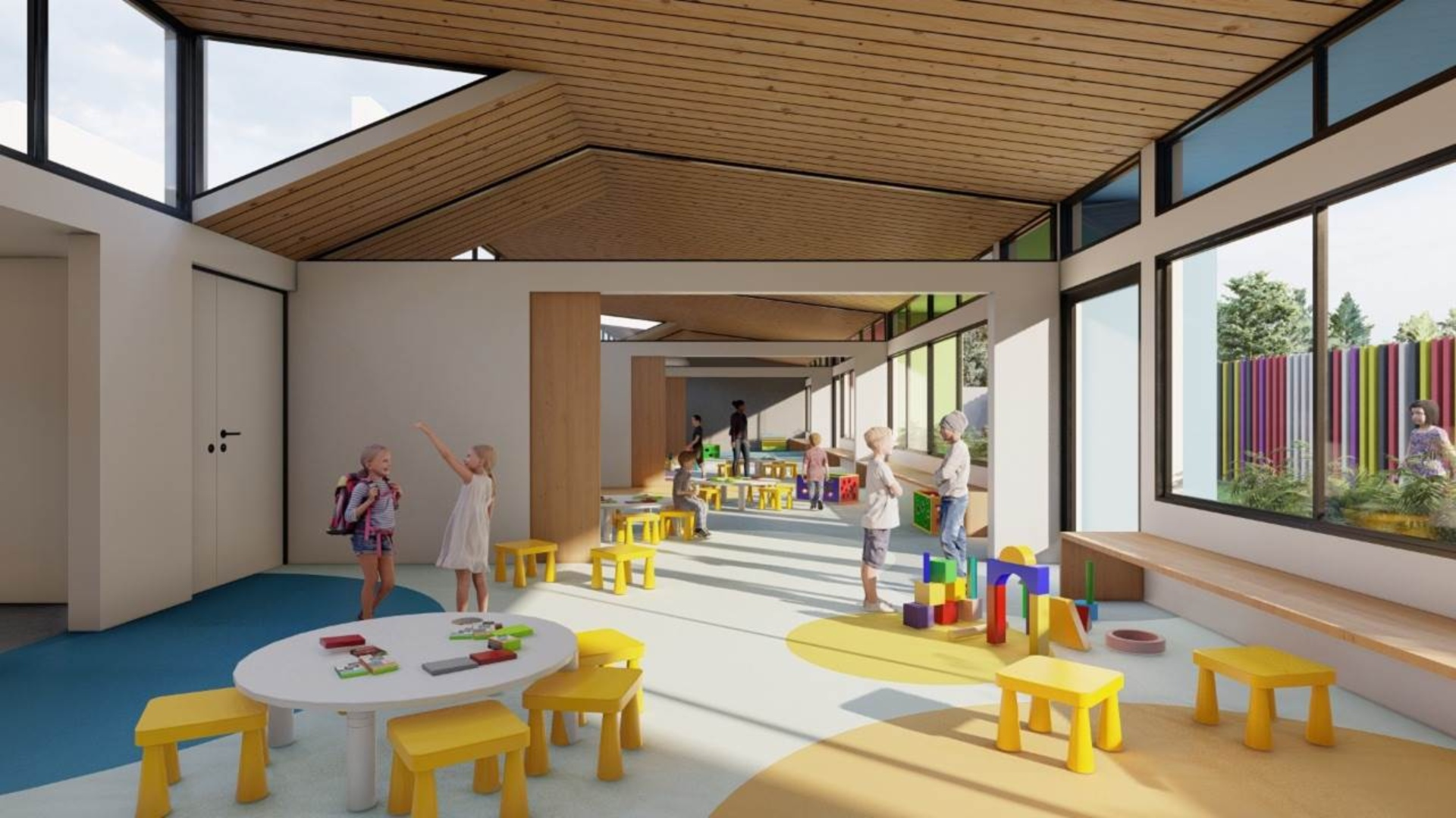 Cómo serán las primeras escuelas pospandémicas del país, construidas en Santa Fe