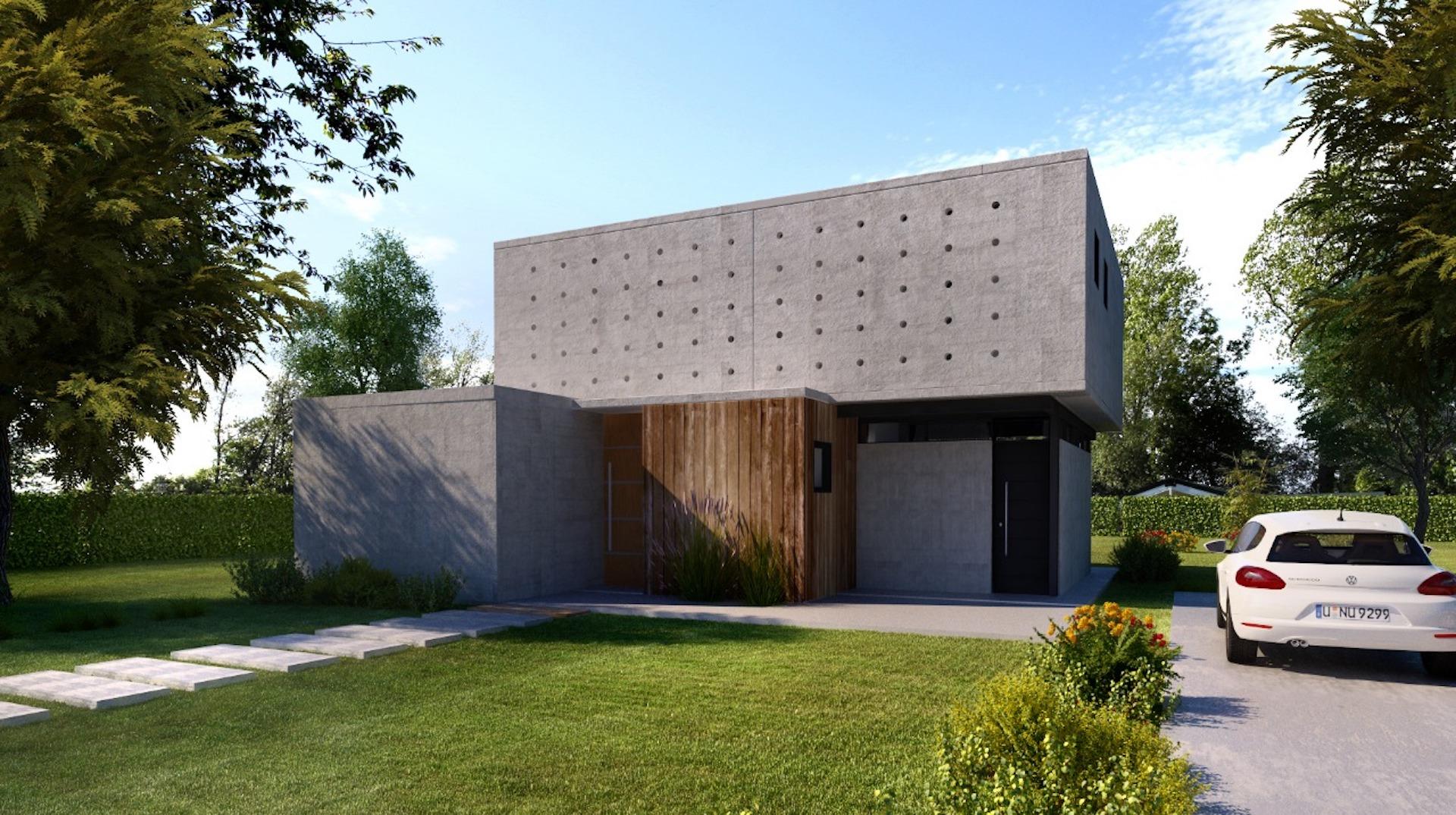 Terraz incorpora casas de hormigón para barrios cerrados y countries