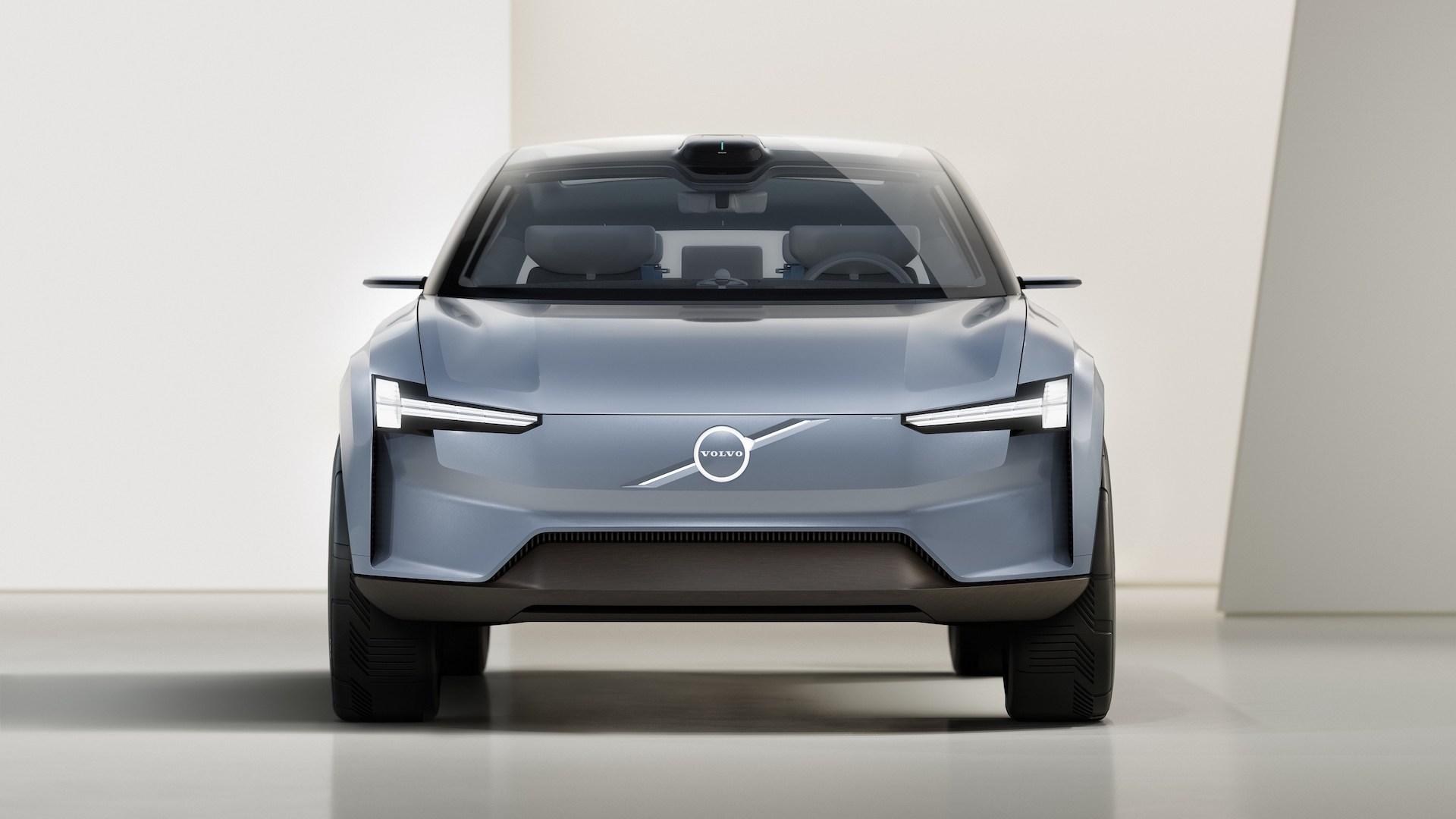 Este es el nuevo Volvo Concept Recharge, totalmente eléctrico