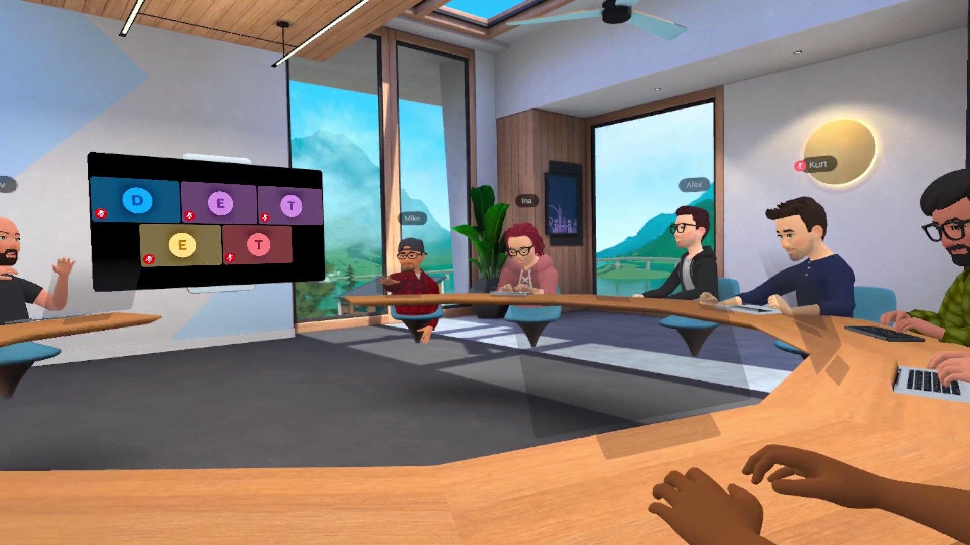Horizon Workrooms: así es la plataforma de Facebook para reuniones virtuales